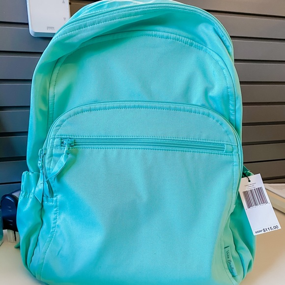 BNWT Vera Bradley Recycled Cotton Campus Backpack